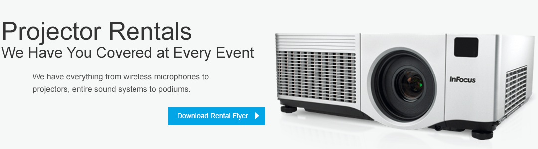 Projector Rentals - We Have You Covered at Every Event